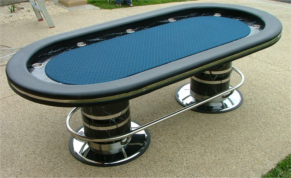 No limit 96 quot suited speed cloth casino poker table w racetrack