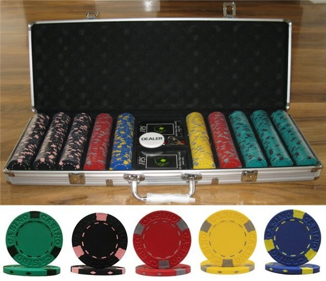 professional clay poker chips