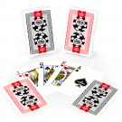 Copag Lace 2016 WSOP Plastic Cards - Red/Black - Bridge