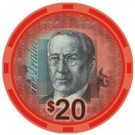 AUD Currency $20
