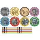 AUD Currency Ceramic Chips - Sample Pack