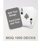 Custom PAPER Casino Playing Cards