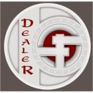 Dropa Discs Dealer Button
