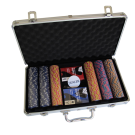 300pce High Roller Monte Carlo Poker Club Chip Set