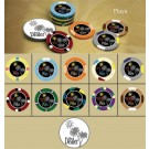 La Playa 500pce Ceramic Poker Chip Set
