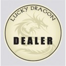 Lucky Dragon Dealer Button