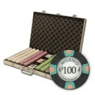 1000pce Milano 10g Clay Poker Chip Set in Aluminium Case