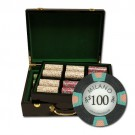 500pce Milano 10g Clay Poker Chip Set in High Gloss case
