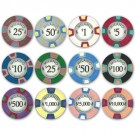 500 Milano 10g Casino Clay Poker Chips