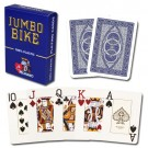 Blue Modiano Bike Trophy Poker Size Jumbo Index