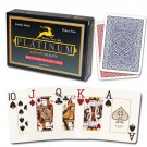 Modiano Platinum Poker Acetate Plastic Jumbo Index 2 Deck Playing Cards Set