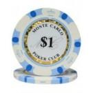 25 x Monte Carlo $1