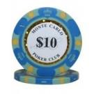 25 x Monte Carlo $10