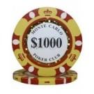 25 x Monte Carlo $1000