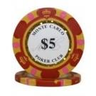 25 x Monte Carlo $5