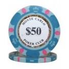 25 x Monte Carlo $50
