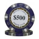 25 x Monte Carlo $500