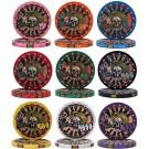 500 Nevada Jack 10g Ceramic Poker Chips