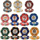 500 Nile Club 10g Ceramic Poker Chips