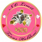 No Limit Texas Holdem $500