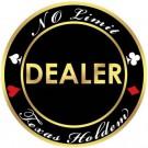 No Limit Texas Holdem Dealer Button