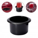 Black Cup Holder for Poker Table Car Boat RV Caravan Sofa
