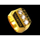 Gold Poker Champion Ring
