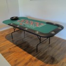 95 Inch Roulette Table with Wooden Wheel