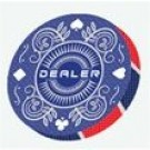 Suits Dealer Button