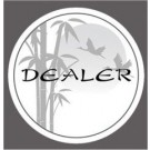 Sunset Dealer Button