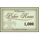 Valentino 1000 Plaque