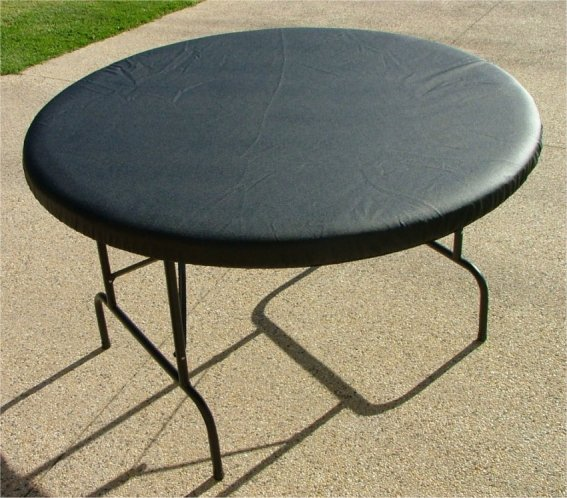 Round Heavy Duty Vinyl Poker Table Cover Ebay